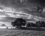 Obrázek - Krajina v černobílých barvách