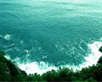 Obrázek - Pohled na moře z kopce