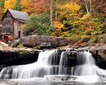 Obrázek - Ukrytý mlýn na řece