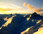 Obrázek - Nad vrcholky Alp