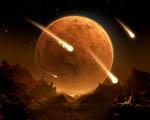 Obrázek - Ohnivý déšť na mrtvé planetě