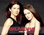 Obrázek - Lauren Graham a Alexis Bledel v seriálu Gilmorova děvčata
