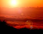 Obrázek - Zlaté mraky