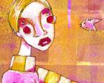 Obrázek - Dívka s novým kamarádem