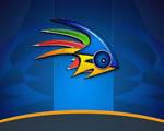 Obrázek - Létající ryba abstrakcí