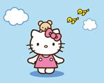 Obrázek - Hello Kitty a ptáčci