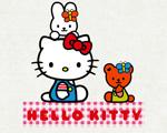 Obrázek - Hello Kitty s kamarády