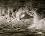 Obrázek - Černobílý zlom vlny