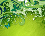 Obrázek - Zelené uklidňující pozadí