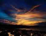 Obrázek - Pestrobarevný západ slunce