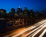 Obrázek - Noční jízda městem New York