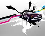 Obrázek - Grafický koncept Hot Rod