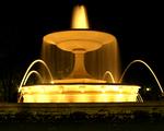 Obrázek - Osvětlená fontána