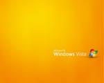 Obrázek - Microsoft Windows Vista v oranžové