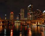 Obrázek - Noční město v USA