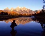 Obr�zek - Ryba�en� na �ist� �ece ve Wyomingu USA