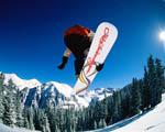 Obrázek - Snowboarding v Alpách