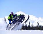 Obrázek - Sněžný skútr na Aljašce