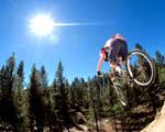 Obrázek - Skalní sjezd na horském kole