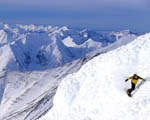 Obrázek - Snowboarding na Aljašce