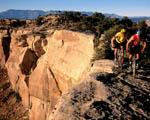 Obrázek - Horská kola na okraji skály v Utahu
