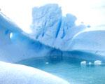 Obrázek - Laguna Iceberg na Antarktidě