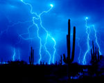Obrázek - Šíleně modré záblesky u Mexika