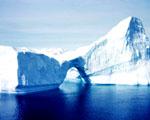 Obrázek - Modré moře a ledové kry