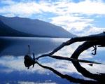 Obrázek - Jezero Ushuaia v Argentíně