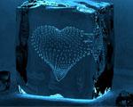 Obrázek - Srdce v kostce ledu
