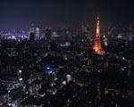 Obrázek - Tokio zahaleno tmou