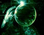 Obrázek - Zelená část vesmíru