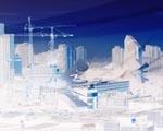 Obrázek - Město v zimě