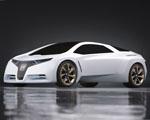 Honda FC Sport Koncept v bílé barvě