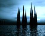 Obrázek - Černé vodní krystaly
