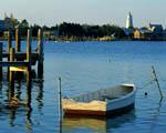 Obrázek - Jezero v Severní Karolíně USA