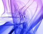 Obrázek - Modrofialová kouřová abstrakce