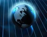 Obrázek - Planeta Země v abstraktním světě
