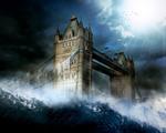 Obrázek - Londýnský Tower Bridge pod vodou