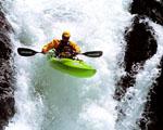 Obrázek - Extrémní sjezd vodopádu na kajaku