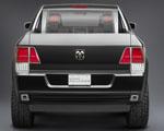 Obrázek - Zadní pohled na koncept vozu Dodge Rampage