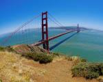 Obrázek - Pohled na most Golden Gate v San Francisku