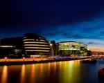 Obrázek - Noční pohled na část Londýna