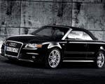 Obrázek - Černý kabriolet Audi RS4