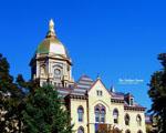 Obrázek - Zlatá kopule university v Notre Dome