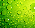 Obrázek - Zelené bubliny ve 3D