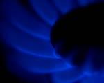 Obrázek - Modrý oheň od sporáku