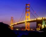 Obrázek - Most Golden Gate zahalený v barvách