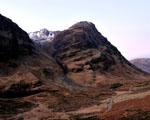 Obrázek - Pohoří Glencoe v hnědých barvách
