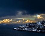 Obrázek - Norské pobřeží za úsvitu